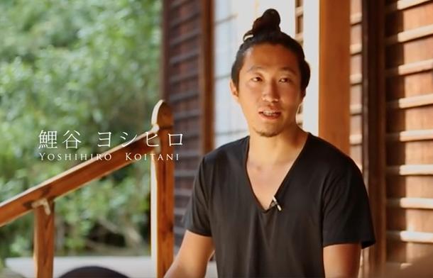 """インタビュー映像 『""""かくめい"""" 発起人 鯉谷ヨシヒロ』"""