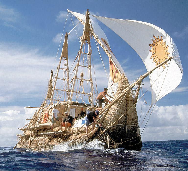 探検家 石川 仁がアメリカ西海岸より古代草船を建造し太平洋航海に挑む